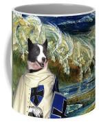 Karelian Bear Dog Art Canvas Print Coffee Mug