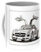 Gull Wing Mercedes Benz S L S Gull-wing Coffee Mug