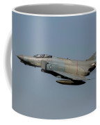 A Hellenic Air Force F-4e Phantom Coffee Mug