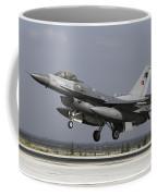 A Turkish Air Force F-16c Fighting Coffee Mug