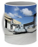 A U.s. Marine Corps Mv-22b Osprey Coffee Mug