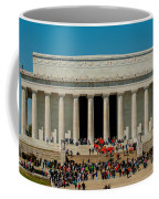 Abraham Lincoln Memorial In Washington Dc Usa Coffee Mug