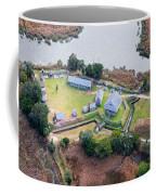 Aerial Near Jekyll Island Coffee Mug