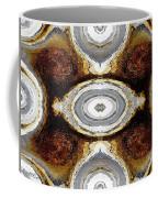 African Moon Abstract Coffee Mug
