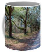 Allee Of Oaks Coffee Mug