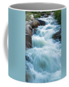 Alluvial Fan Falls On Roaring River In Rocky Mountain National Park Coffee Mug