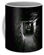 A Tunnel In The Catacombs Of Paris France Coffee Mug