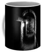 Altered Image Of The Catacomb Tunnels In Paris France Coffee Mug