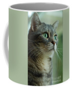American Shorthair Cat Profile Coffee Mug