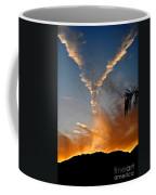 Angel Wings In The Sky Coffee Mug