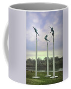 3 Angels Statue Philadelphia Coffee Mug