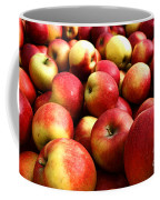 Apples Coffee Mug by Olivier Le Queinec