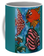 Art Fish Coffee Mug