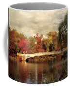 Autumn At Bow Bridge Coffee Mug