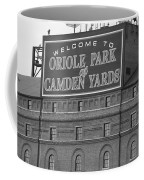 Baltimore Orioles Park At Camden Yards Coffee Mug by Frank Romeo