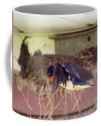 Barn Swallows Constructing Their Nest Coffee Mug by J McCombie