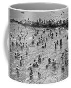Bathers At Coney Island Coffee Mug