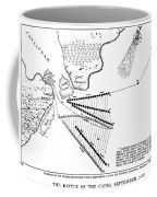 Battle Of Virginia Capes Coffee Mug