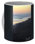 Beach Sunset Ormond Beach Coffee Mug