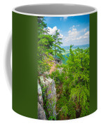 Beautiful Aerial Landscape Views From Crowders Mountain North Ca Coffee Mug
