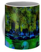 Big Ben On The River Thames Coffee Mug