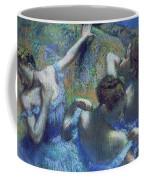 Blue Dancers Coffee Mug