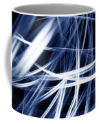 Blue Lines  Coffee Mug by Les Cunliffe