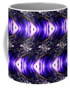 Blue Poppy Fish Abstract Coffee Mug