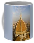 Brunelleschi's Dome At The Basilica Di Santa Maria Del Fiore Coffee Mug