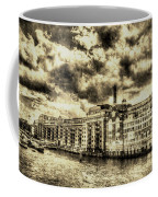 Butlers Wharf London Vintage Coffee Mug