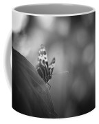 Butterfly Black And White Coffee Mug