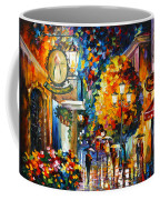 Cafe In The Old City Coffee Mug