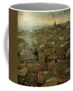 Calahorra Roofs From The Bell Tower Of Saint Andrew Church Coffee Mug by RicardMN Photography
