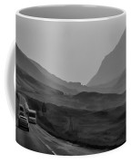 Cars And Other Vehicles In The Scottish Highlands Coffee Mug
