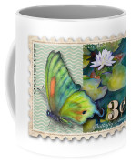 3 Cent Butterfly Stamp Coffee Mug
