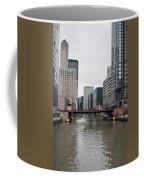 Chicago Skyline And Streets Coffee Mug