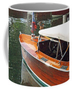 Chris Craft Runabout On Geneva Coffee Mug