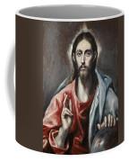 Christ Blessing Coffee Mug
