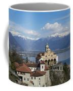 Church Madonna Del Sasso Coffee Mug