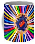 Colorful Pencils Coffee Mug
