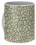 Cracked Dry Clay Coffee Mug