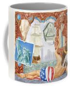 Destruction Of Native America Coffee Mug