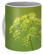 Yellow Dill Flower Coffee Mug