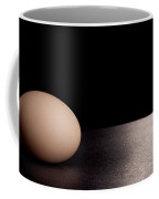 Egg On Black Coffee Mug