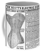 Electric Corset, 1882 Coffee Mug