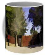 Entrance Gate Of Humayuns Tomb In Delhi  Coffee Mug