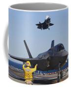 F-35b Lighnting II Variants Land Aboard Coffee Mug