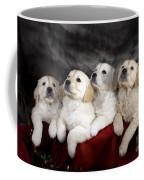 Festive Puppies Coffee Mug