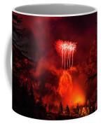 Fireworks Above Toce Falls, Formazza Coffee Mug