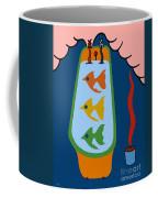 3 Fish In A Tub Coffee Mug
